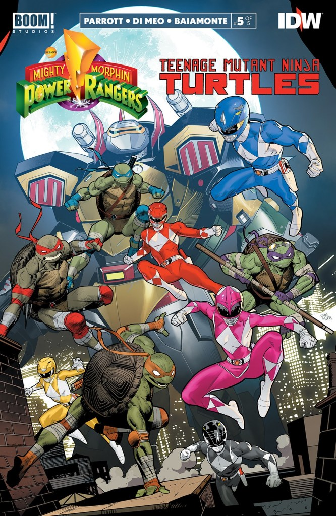 Mighty Morphin Power Rangers/Teenage Mutant Ninja Turtles #5