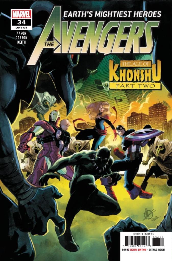The Avengers #34