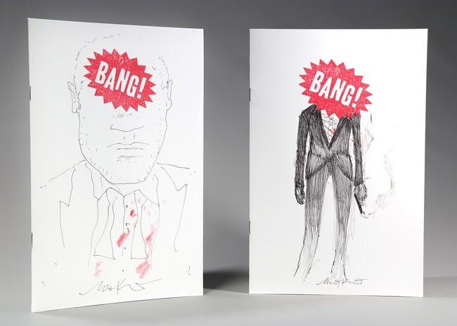 BANG! #1 Convention Exclusive Sketch Cover (Matt Kindt)