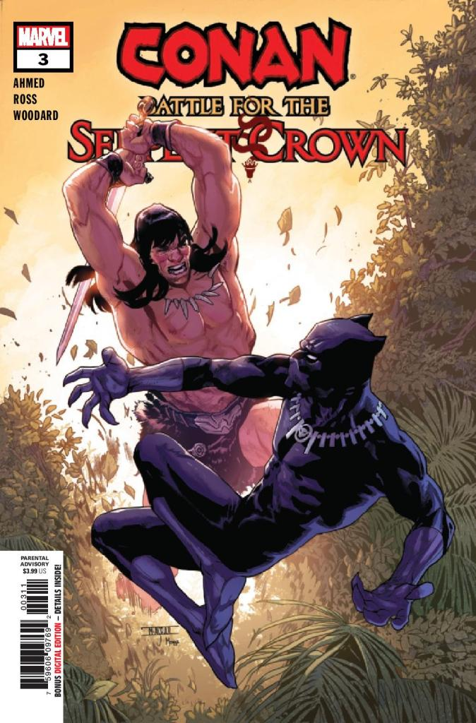 Conan: Battle for the Serpent Crown #3 (of 5)
