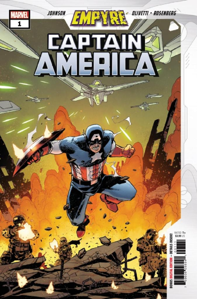 Empyre: Captain America #1 (of 3)