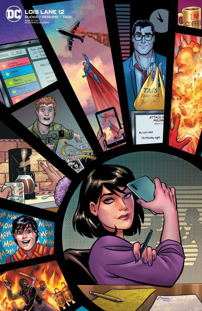 Lois Lane #12 Variant Cover