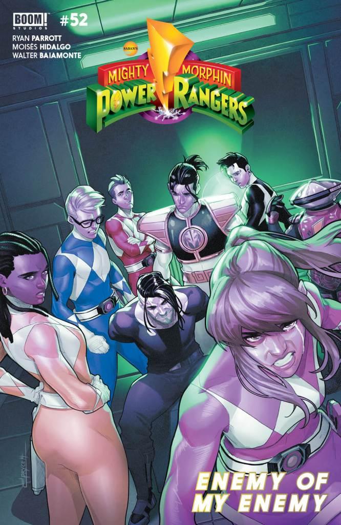 Mighty Morphin Power Rangers #52