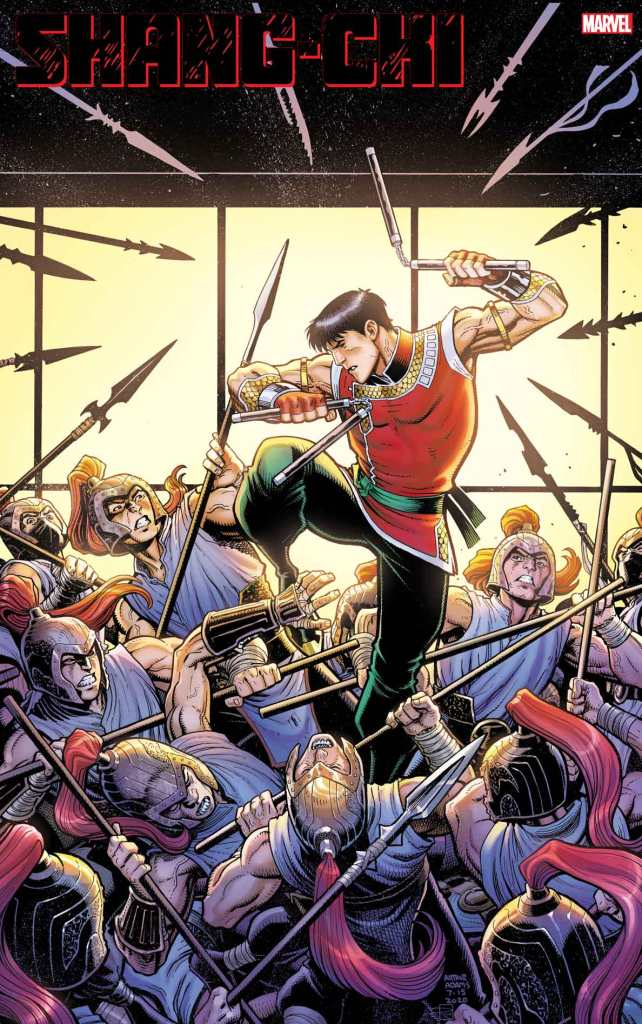 Shang-Chi #1 Arthur Adams variant