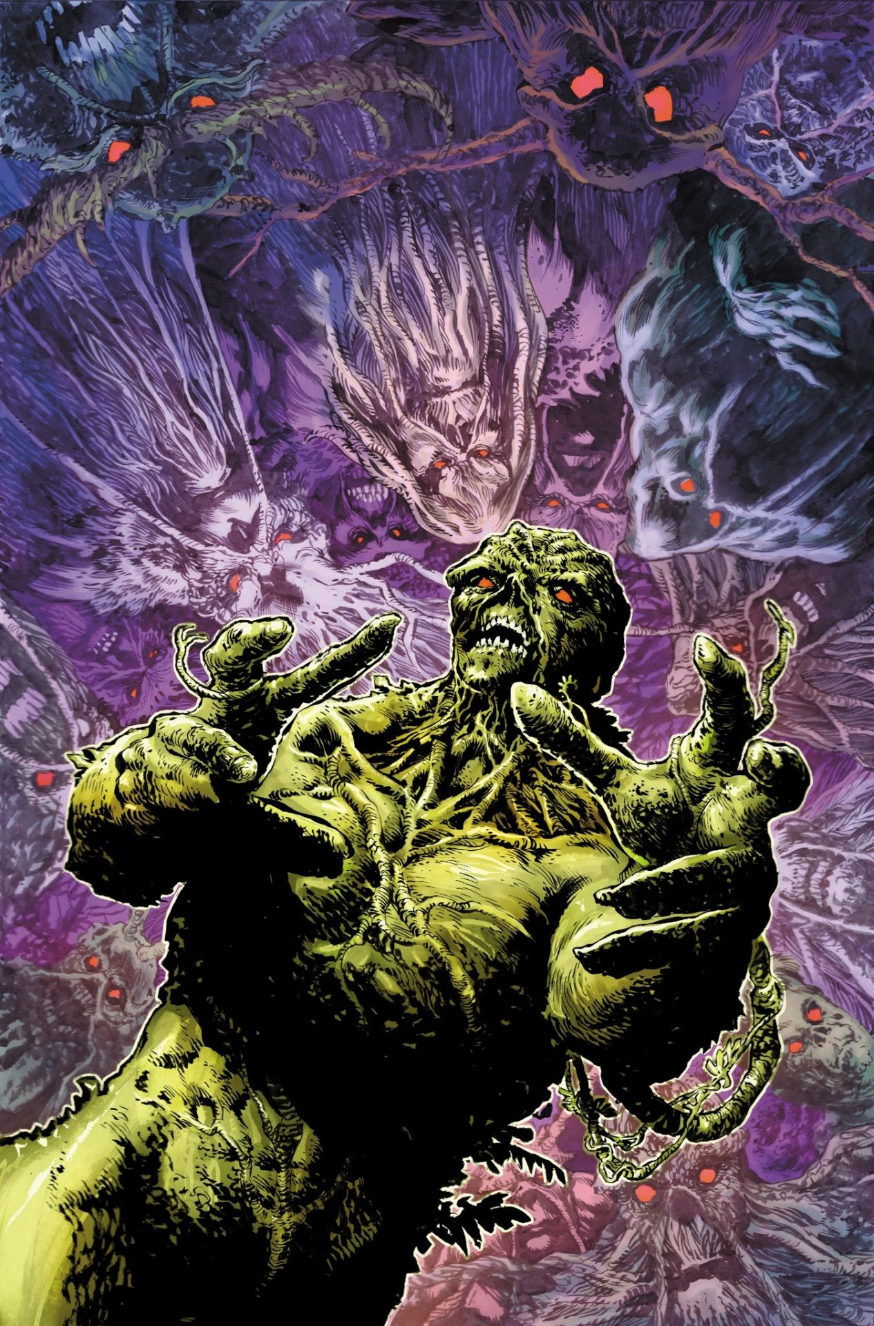 Halloween 2020 The Damned DC Doubles Down on the Scary with Legend of the Swamp Thing