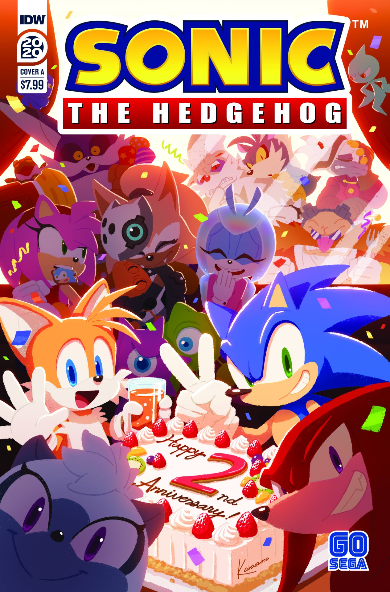 Preview Sonic The Hedgehog Annual 2020 Graphic Policy