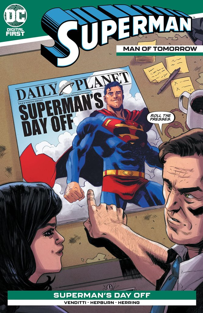 Superman: The Man of Tomorrow #12
