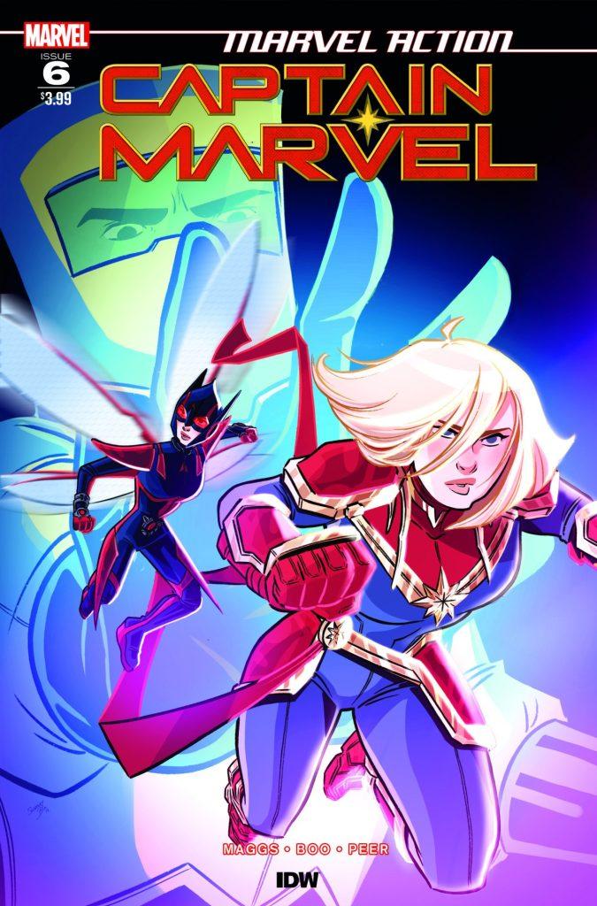 Marvel Action: Captain Marvel #6