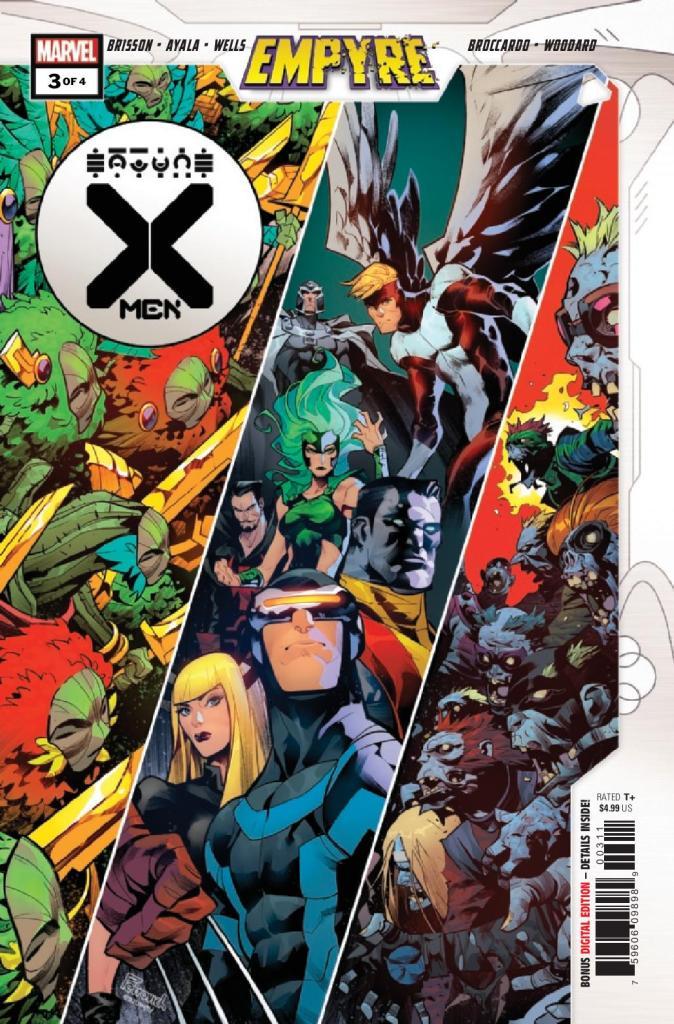 Empyre: X-Men #3 (of 4)