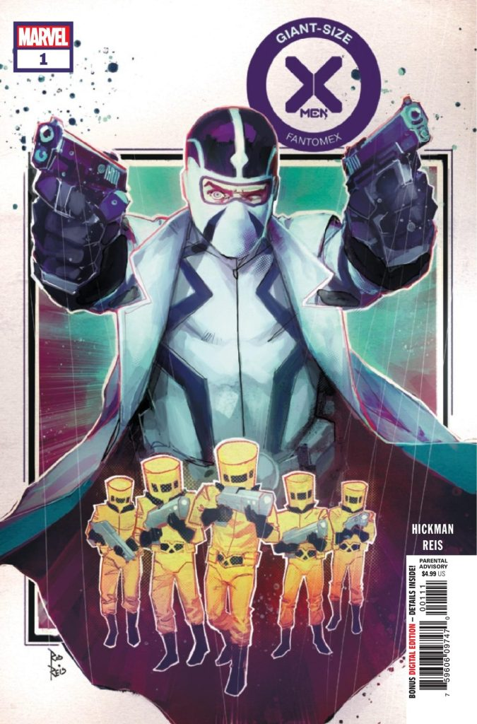 Giant-Size X-Men Fantomex #1