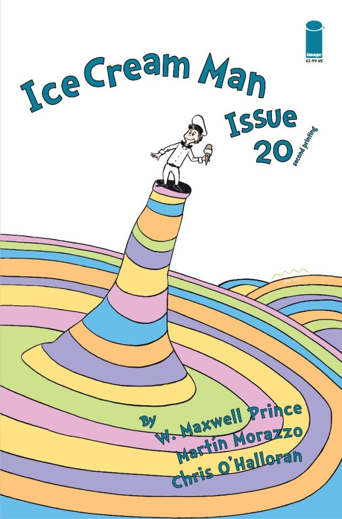 Ice Cream Man #20, second printing