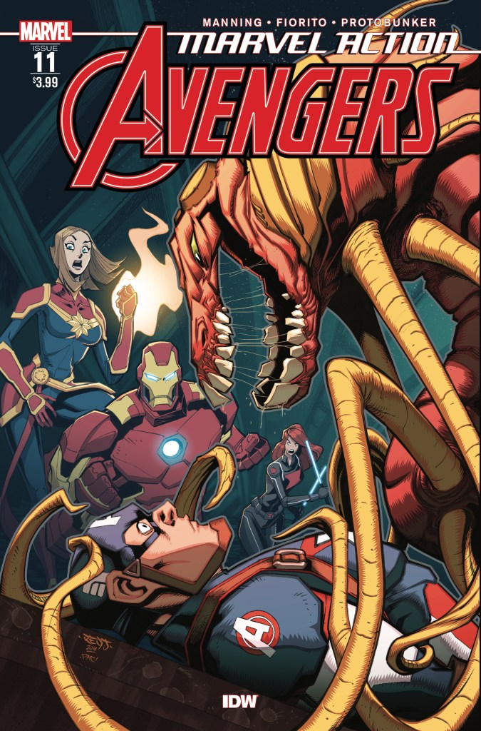 Marvel Action: Avengers #11