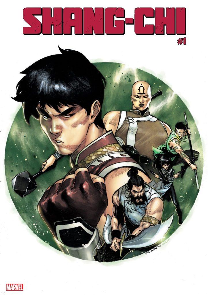 DIKE RUAN'S SHANG-CHI #1 COVER