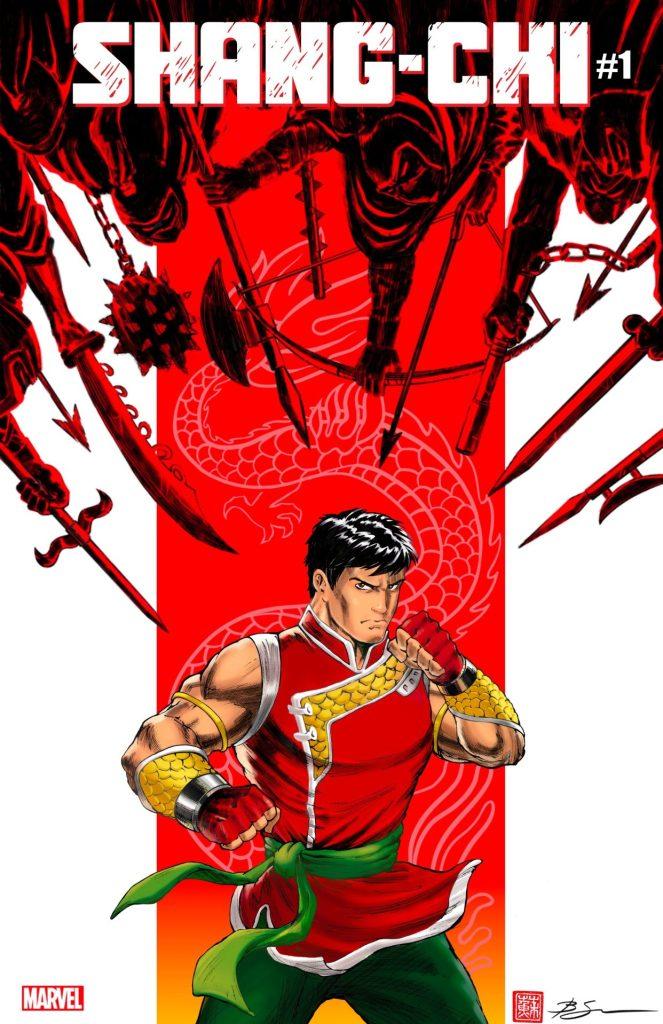 Shang-Chi #1 Benjamin Su variant