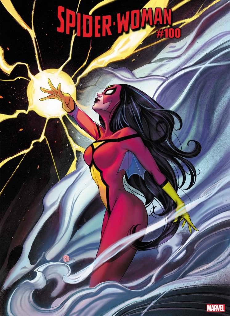Spider-Woman #5 Peach Momoki variant