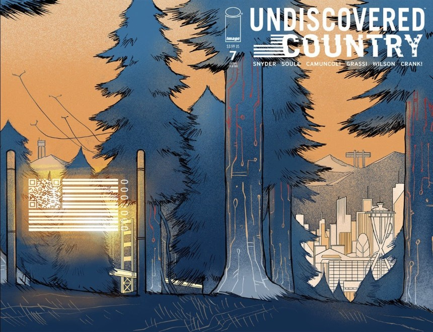 Undiscovered Country #7, second printing