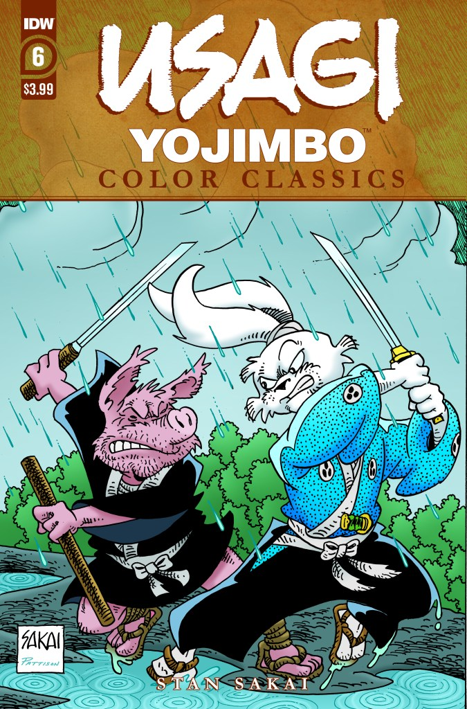 Usagi Yojimbo Color Classics #6 (of 7)