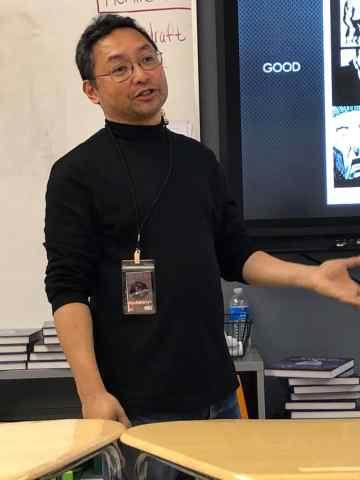 Instructor Ramon Gil