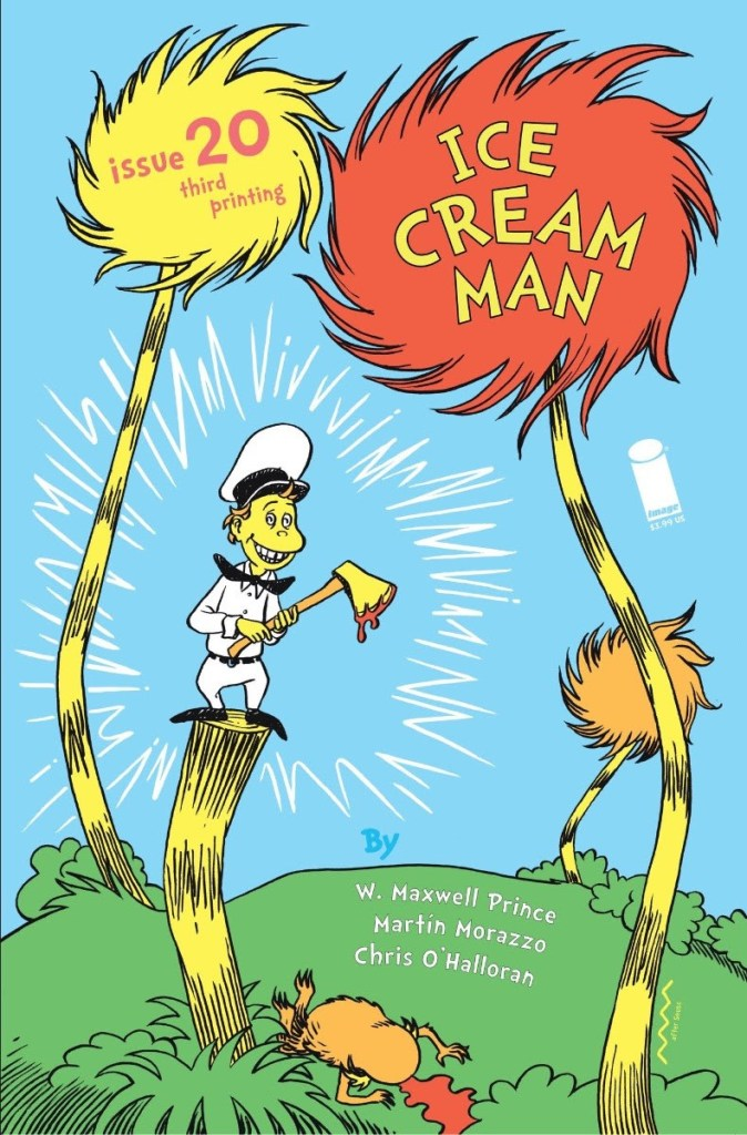 Ice Cream Man #20 third printing