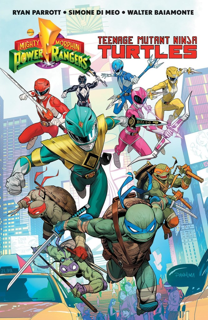 Power Rangers/Teenage Mutant Ninja Turtles