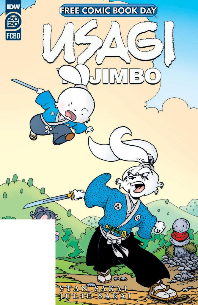 Free Comic Book Day 2020: Usagi Yojimbo