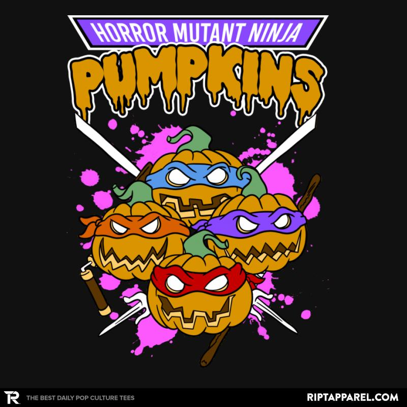 Horror Mutant Ninja Pumpkins