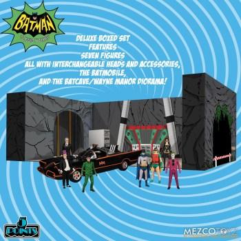 5 Points Batman (1966): Deluxe Boxed Set