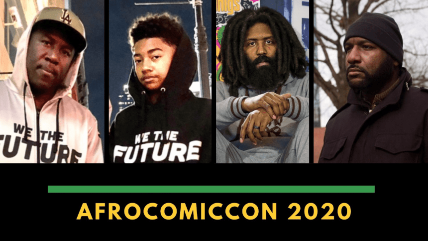 AfroComicCon Hip-Hop And Comics: Cultures Combining