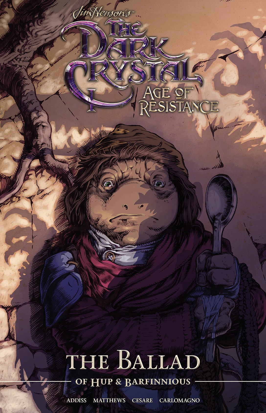Preview: Jim Henson's the Dark Crystal Age of Resistance Vol. 2 the Ballad of Hup & Barfinnious | Graphic Policy