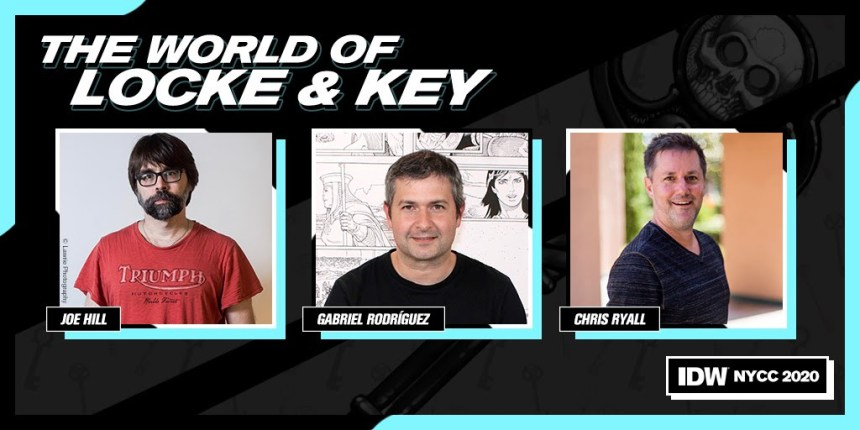 IDW Presents: The World of Locke & Key