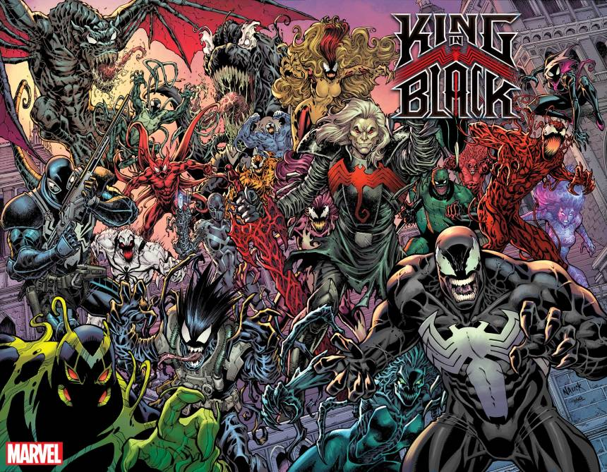 King in Black #1 Todd Nauck variant cover