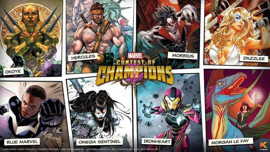 Marvel Contest of Champions fan vote