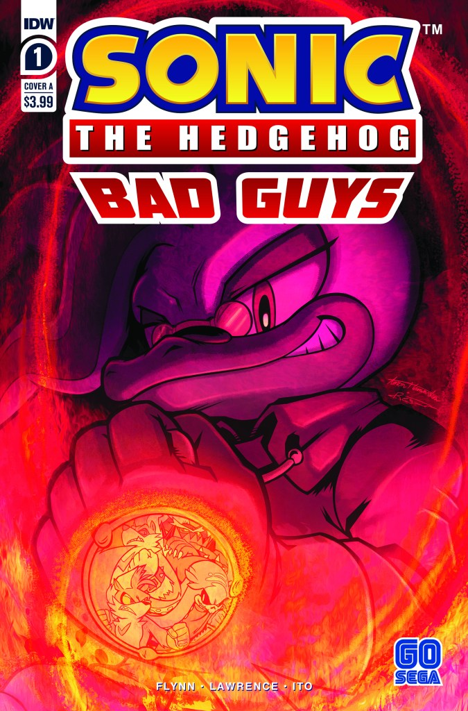 Sonic the Hedgehog: Bad Guys #1 (of 4)