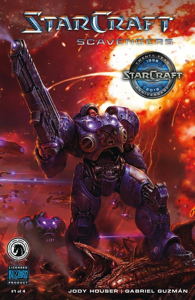 StarCraft: Scavengers #1 Convention Exclusive Variant (Wei Wong)