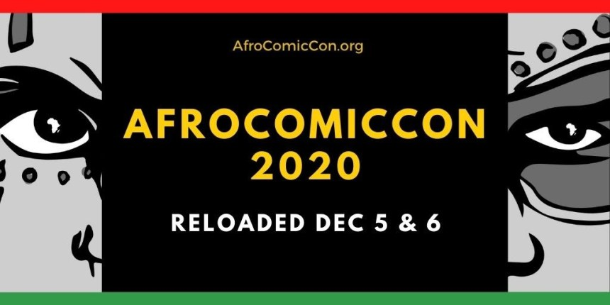 AfroComicCon December 2020