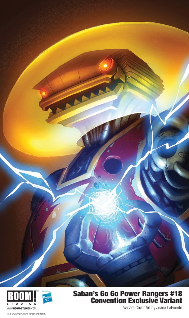Saban's Go Go Power Rangers #18 Convention Exclusive Variant