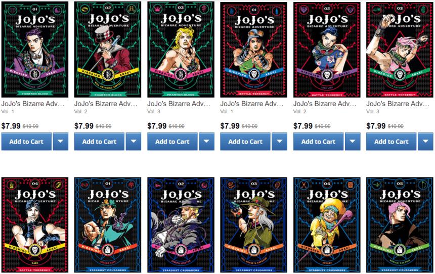 Viz JoJo's Bizarre Adventure Sale