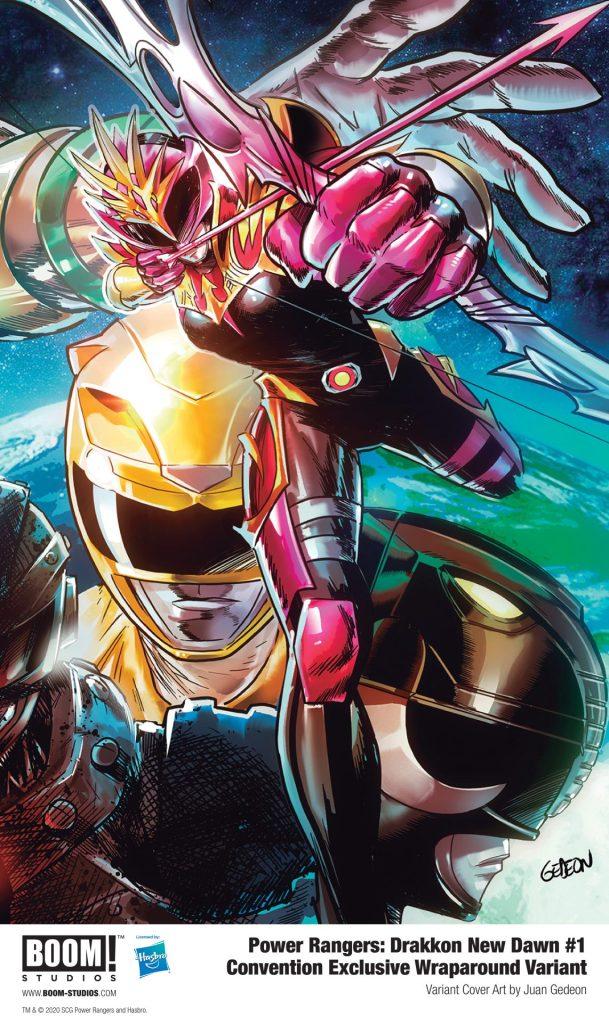 Power Rangers: Drakkon New Dawn #1 Convention Exclusive Wraparound Variant