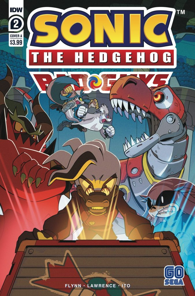 Sonic the Hedgehog: Bad Guys #2 (of 4)