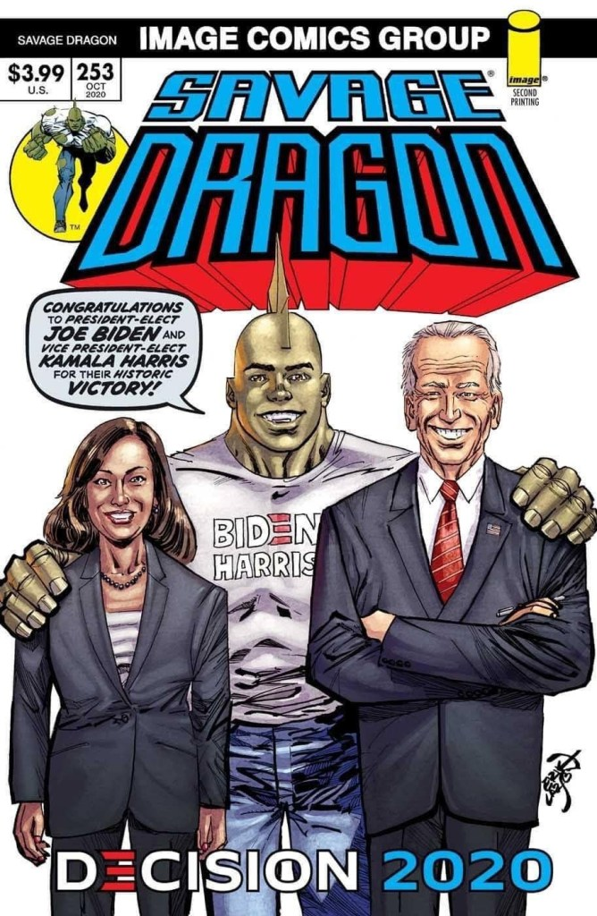Savage Dragon #253 second printing