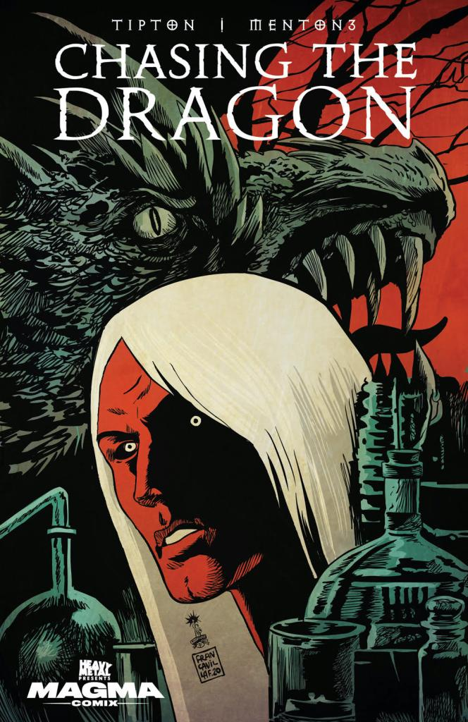 Chasing the Dragon #1 Francesco Francavilla variant