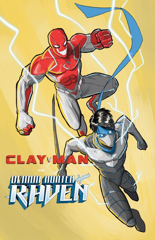 Clay-Man X Demon Hunter Raven Crossover!