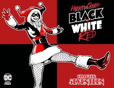 Harley Quinn: Black + White + Red #17