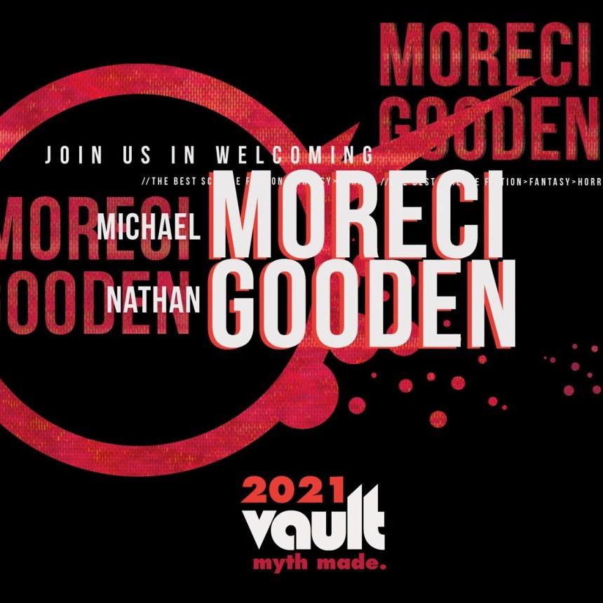 Michael Moreci and Nathan Gooden Vault Comics