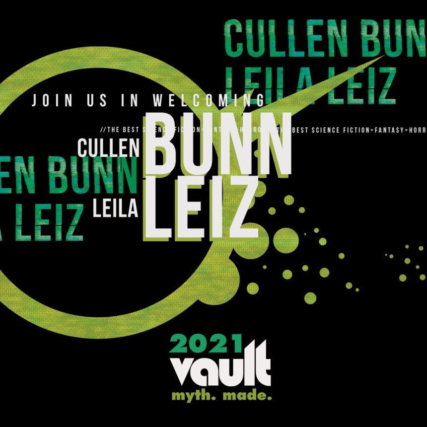 Vault Comics Cullen Bunn and Leila Leiz