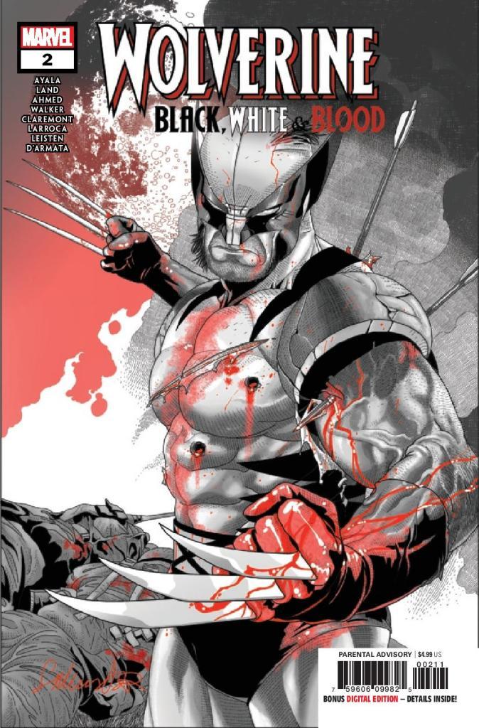 Wolverine: Black, White, & Blood #2 (of 4)