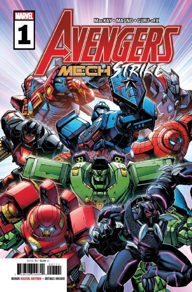 Avengers: Mech Strike #1 (of 5)