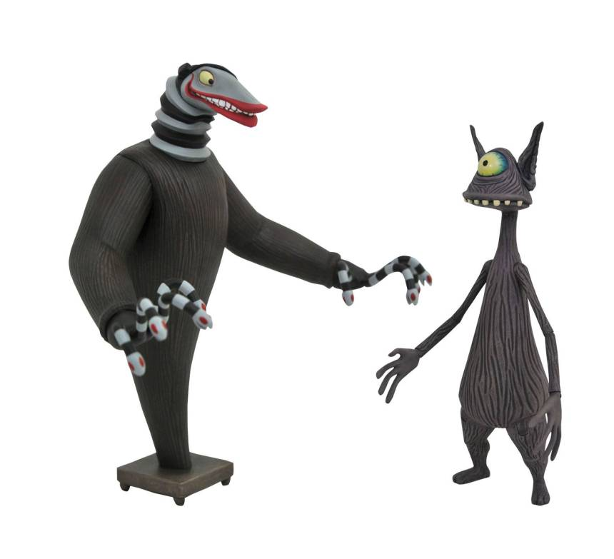 Nightmare Before Christmas Select PX Creature and Cyclops Action Figures