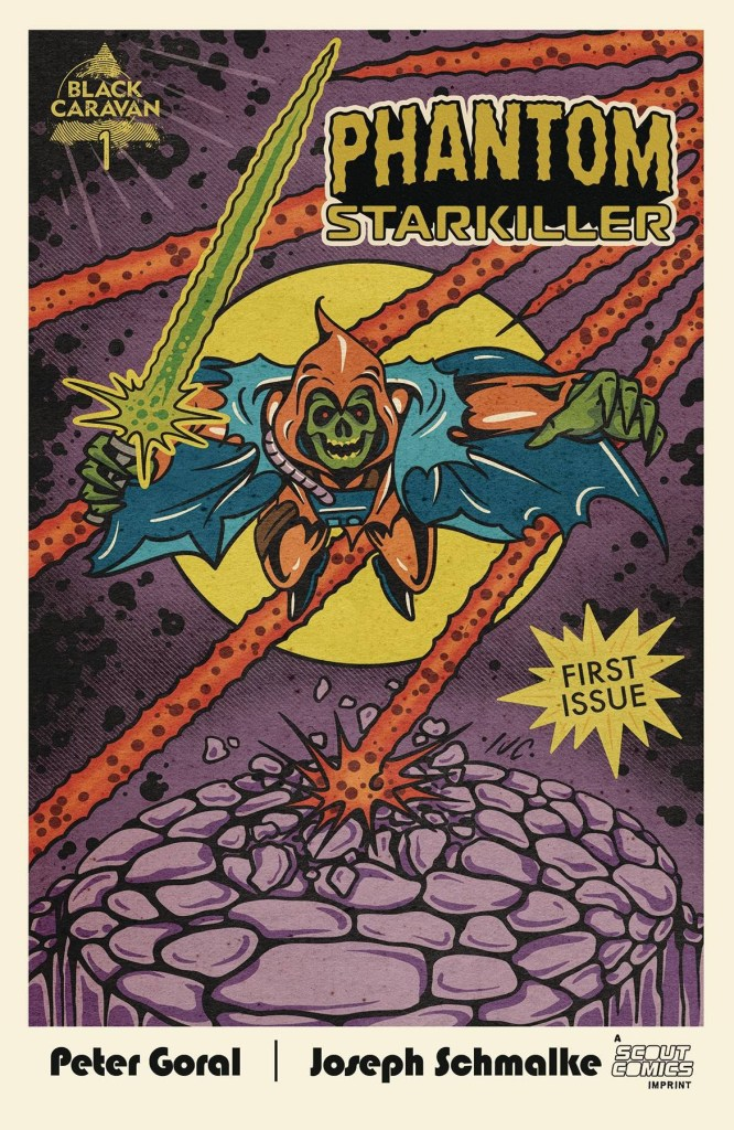 Phantom Starkiller #1 3rd printing