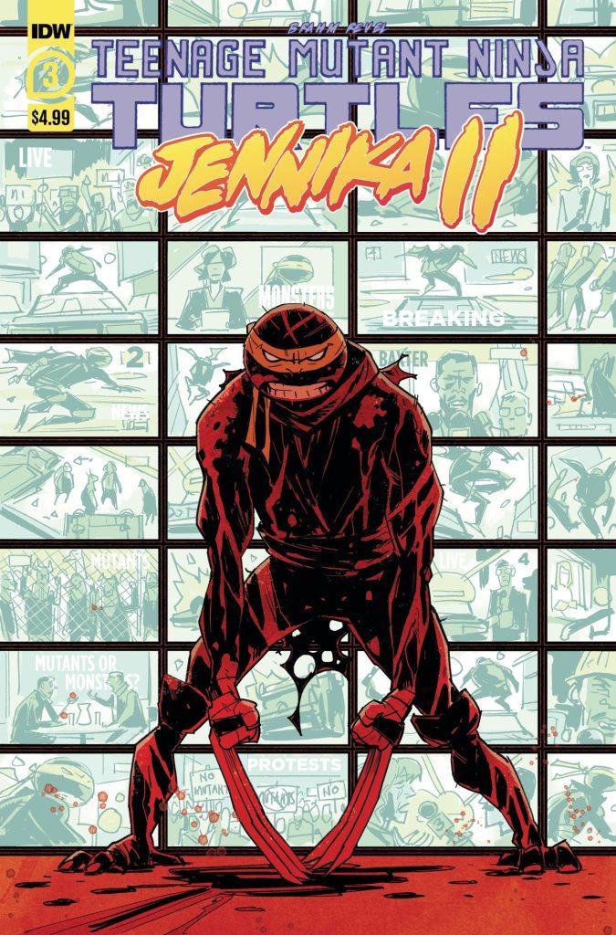Teenage Mutant Ninja Turtles: Jennika II #3 (of 6)